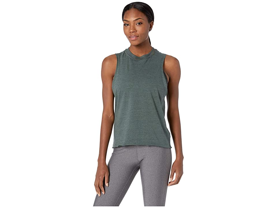 Reebok Elements Marble Tank Top (Chalk Green) Women