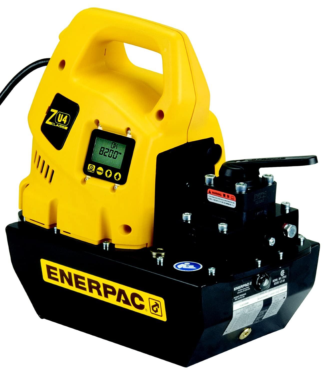 Enerpac ZU4208SB Max 68% OFF Universal Electric Pump Valv with VE32 Charlotte Mall Solenoid
