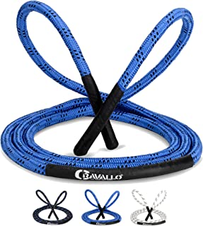 Cravallo® Skakanka I 3 metry Fatburner Speed Jumping Rope I dla dorosłych profesjonalna lina do skakania | idealna do boks...