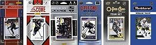 NHL Los Angeles Kings 男士 6 种不同的*收藏卡团队套装,白色