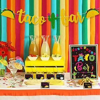Best taco bar decorations Reviews
