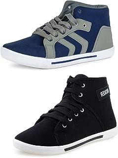 Chevit Men's Combo Casual Shoes (Sneakers + Sports Shoes)