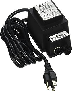 Aquascape 98486 Garden, Pond, and Fountain 60-Watt 12V Quick-Connect Transformer, Black