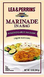 Lea & Perrins Roasted Garlic Balsamic Marinade In A Bag (12 oz Bags, Pack of 10)