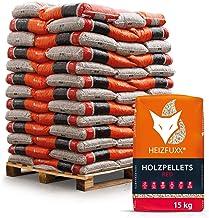 HEIZFUXX Holzpellets Red Heizpellets Hartholz Wood Pellet Öko Energie Heizung Kessel..