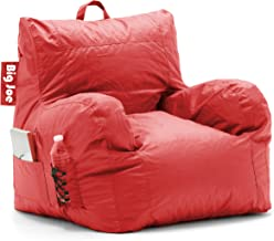 Comfort Research Dorm Bean Bag Chair, Flaming Red
