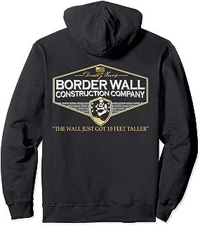 USA Donald Trump Border Wall Construction Company Hoodie