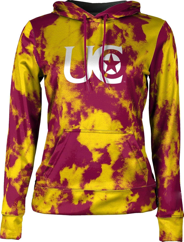 ProSphere University of Charleston Girls' Pullover Hoodie, School Spirit Sweatshirt (Grunge)