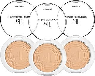 (3 Pack) e.l.f. Essential Flawless Face Powder Light Beige