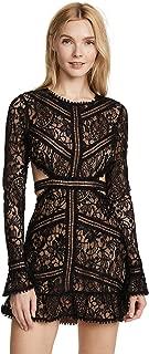 Women's Emerie Cutout Dress, Black, X-Small
