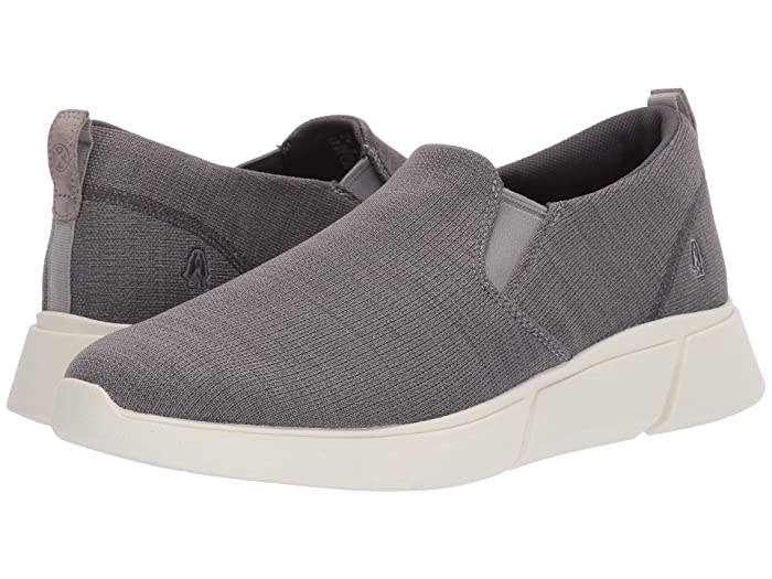 Hush Puppies  Cooper Slip-On (Grey Heathered) Mens Shoes