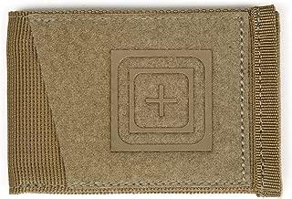5.11 Tactical Status Bifold Wallet w/Branded Front Panel, Kangaroo, Style 56466