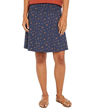 Toad&Co Chaka Skirt (True Navy Painter
