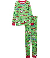 Retro Christmas Pajama Set (Toddler/Little Kids/Big Kids)