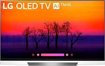 LG Electronics OLED65E8PUA 65-Inch 4K Ultra HD Smart OLED TV (2018 Model) (Renewed)