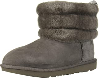 Kids' Fluff Mini Quilted Fashion Boot