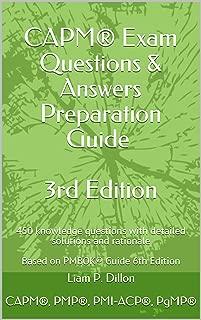 Mejor Capm Exam Questions de 2020 - Mejor valorados y revisados