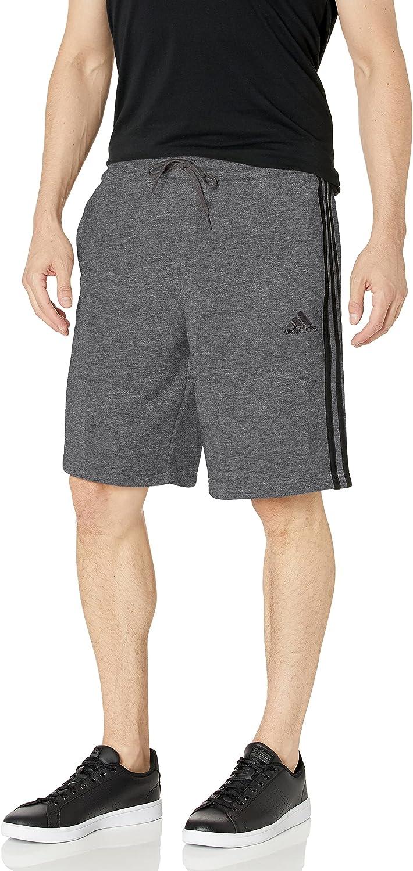 adidas Men's Essentials 3-Stripes Recommendation Shorts Quality inspection Fleece