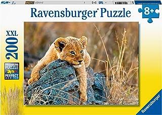 Ravensburger- Puzzle 200 pièces XXL-Le Petit lionceau Enfant, 4005556129461
