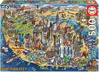 Educa Puzzle. New York City Map 500 Teile