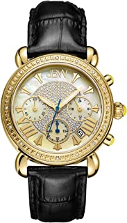 JBW Luxury Women's Victory 16 Diamonds Mother of Pearl Chronograph Watch
