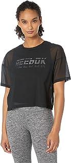 Reebok Womens Short Sleeve DU4851-P, Womens, Short Sleeve, FLJ08