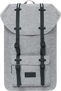 Bagail Casual Large Vintage Canvas Travel Backpacks Laptop College School Bags