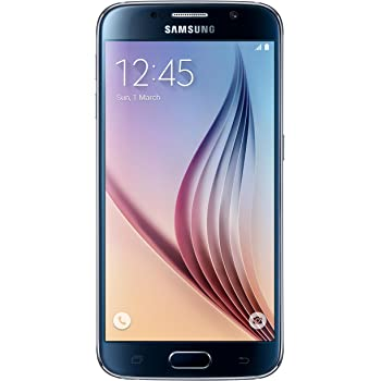 Samsung Galaxy S6 G920 32GB GSM Unlocked International Smartphone, Black Sapphire