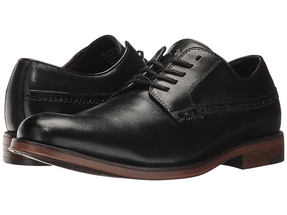 Dockers Albury Plain Toe Oxford (Black Polished Full Grain) Men