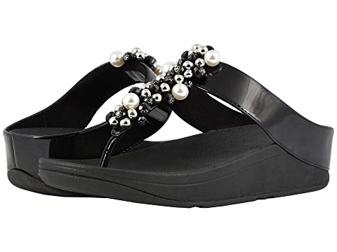 68b6713b5fd8c3 FitFlop Deco Toe Thong Sandals at Zappos.com