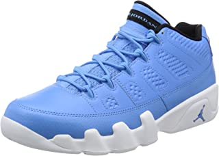 Nike Mens Air Jordan 9 Retro Low Pantone University Blue/White Leather Size 11.5