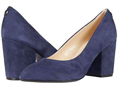 Nine West Ani9X9 (Blue Suede) Women