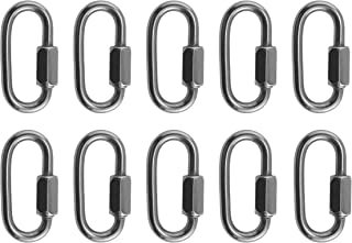 10 Pieces Stainless Steel 316 Quick Link 4mm (5/32) Marine Grade