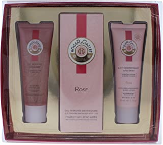 Roger & Gallet Rose 3 Piece Gift Set for Women