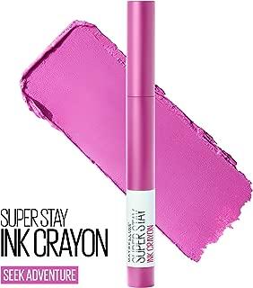 Maybelline SuperStay Ink Crayon Lipstick, Matte Longwear Lipstick Makeup, Seek Adventure