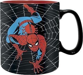 Marvel Comics MDB25588 Spider-Man Gourde en Acier 500ml-Un Pouvoir entraine Une Grande responsabilit/é Adulte Unisexe 500ml Multicolor