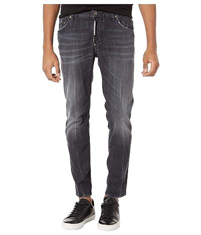 DSQUARED2 New Black Wash Skater Jeans in Black (Black) Men