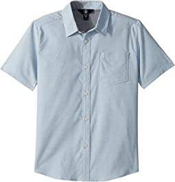 Volcom Kids - Everett Oxford Short Sleeve Shirt (Big Kids)