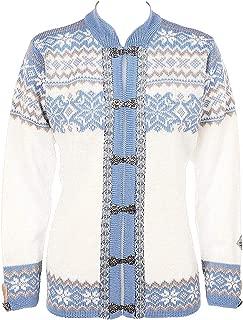 Norlender Norwegian 100% Wool Voss Cardigan Sweater w/Free 100% Wool Ski Cap