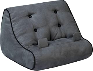 Book Couch Book Stand Cushion Support iPad Tablet eReader Kindle Smartphone Soft Lap Pillow Holder Reading Home Bed Rest T...