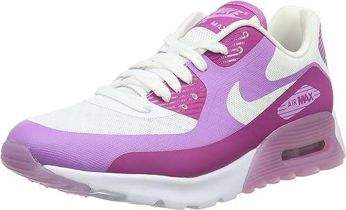 Nike WMNS Air Max 90 Ultra Breathe, paniers Basses Femme