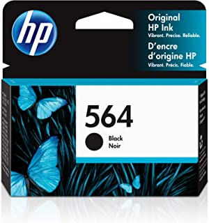 HP 564 | Ink Cartridge | Black | Works with HP DeskJet 3500 Series, HP OfficeJet 4600 5500 C6300 6500 7500 Series, B8550, ...