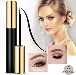 Arishine Magnetic Eyeliner Liquid Liner, Natural Look,Waterproof and Smudge Resistant, Use with Magnetic False Lashes