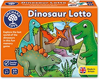 Orchard Toys Dinosaur Lotto Children's Game, Multi, One Size
