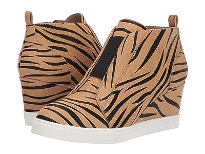 LINEA Paolo Felicia 3 (Sand/Black Zebra Print Haircalf) Women
