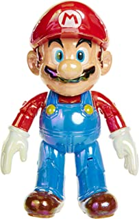 """World of Nintendo Star Power Mario with Star Accessory 4"""" Action Figure"""