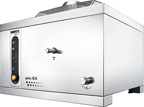 Nemox Pro 6K Crea Fully Automatic Commercial Tabletop Gelato/Ice Cream Maker with Conservation