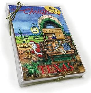 Texas Christmas Card with Recipe - No Cowboy Forgotten