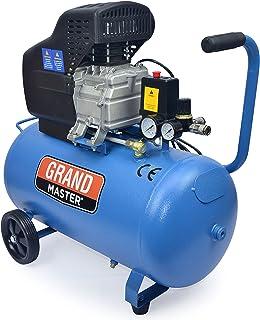 comprar comparacion Grandmaster - Compresor De Aire De 50 Litros 220V, 206L/Min, 1500W, 8 Bares/116psi, Filtro De Aire, Velocidad 2850/Min, Co...