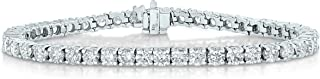 Vir Jewels 2 cttw Certified Diamond Bracelet 14K White Gold 7 Inches